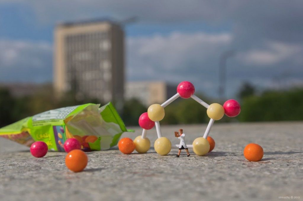 'Why is it so hard to find a job?' - 'Scientific' - Slinkachu