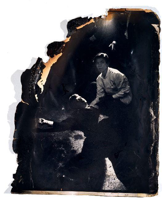 La foto quemada