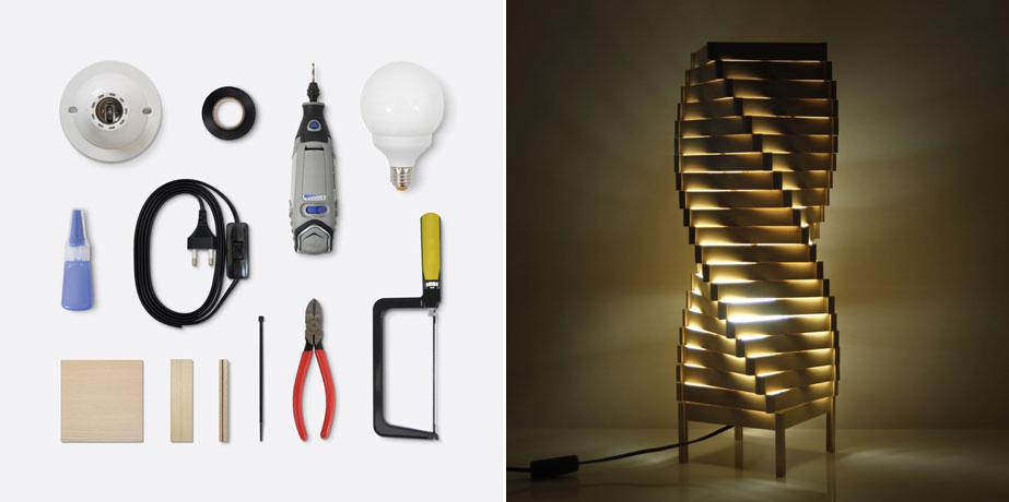 'Helical Lighting' - HOBBY:DESIGN
