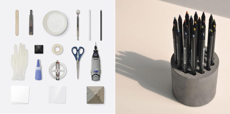 'Pencil vase' - HOBBY:DESIGN