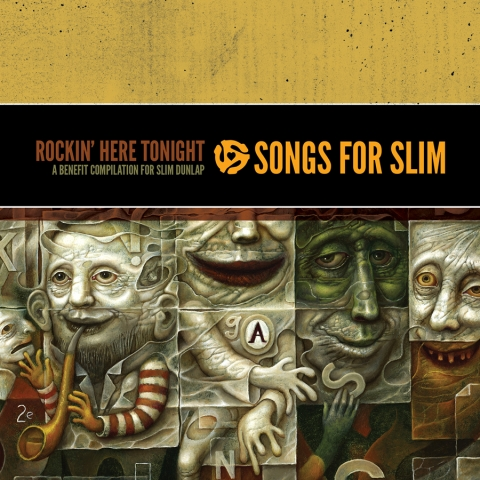 """Rockin' Here Tonight. Songs for Slim"""