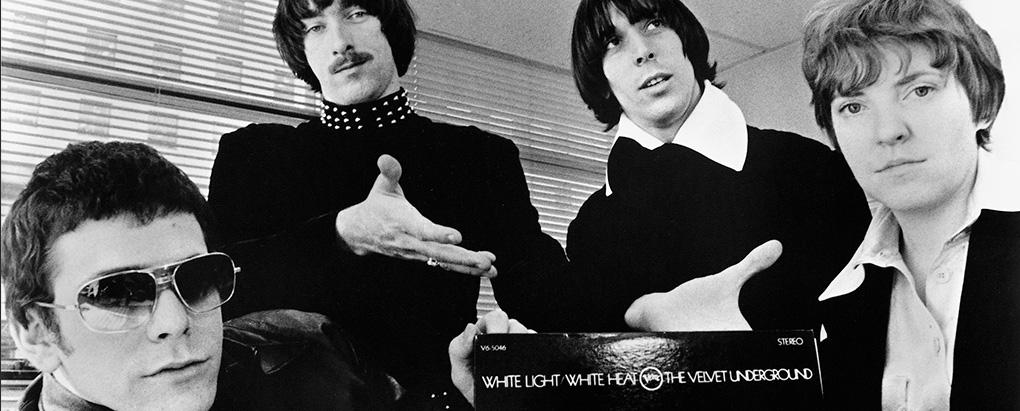 The Velvet Underground, 1968. Desde la izquierda, Lou Reed, Sterling Morrison, John Cale y Maureen Tucker