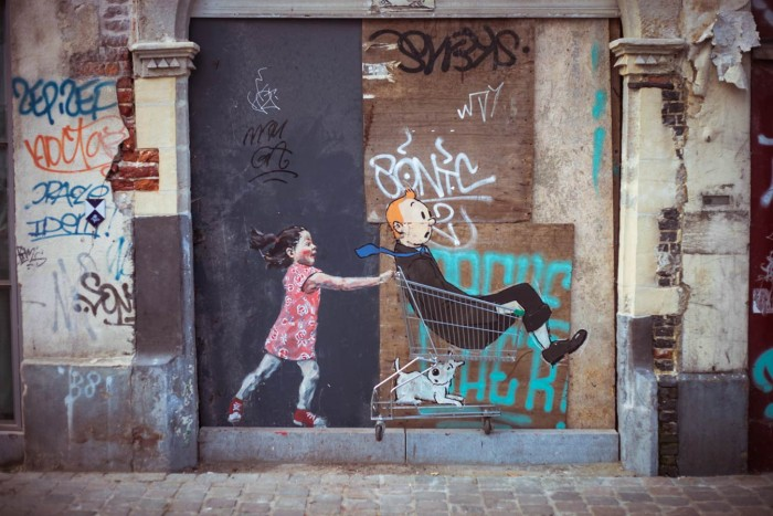 'Brussels, 2012'- Ernest Zacharevic