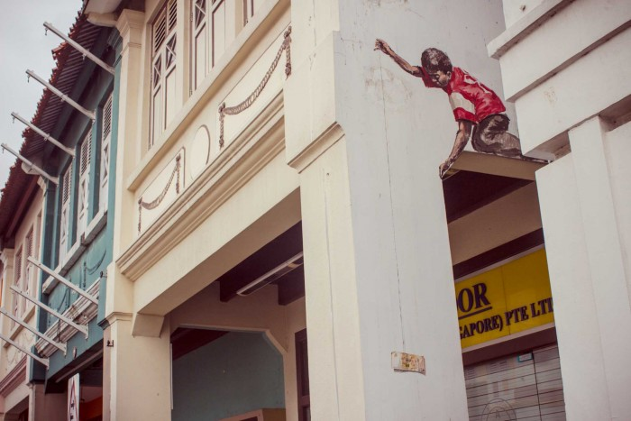 'Singapore,  2012' - Ernest Zacharevic