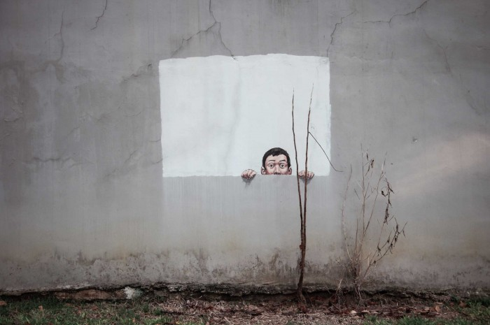 'Singapore, 2013' - Ernest Zacharevic