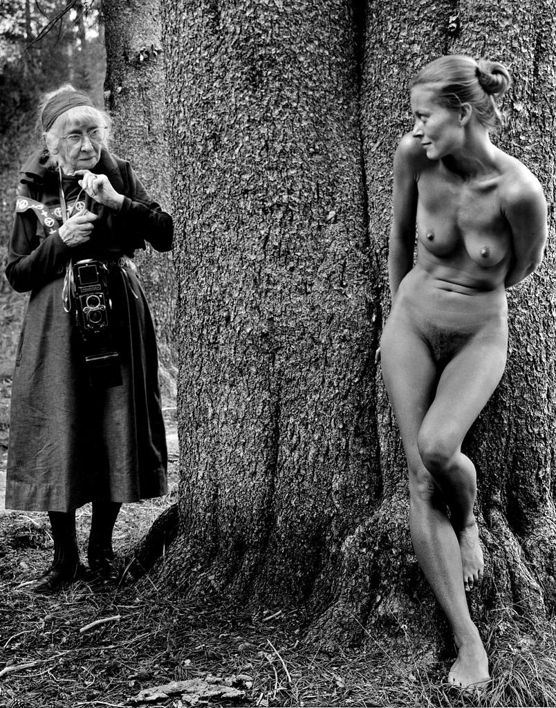 Imogen and Twinka at Yosemite, 1974 © Judy Dater
