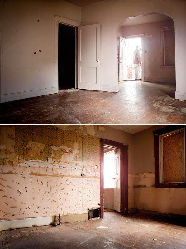 Interiores de una de las viviendas de Write-A-House