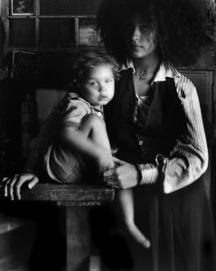Maria and Legend, 1971 © Judy Dater
