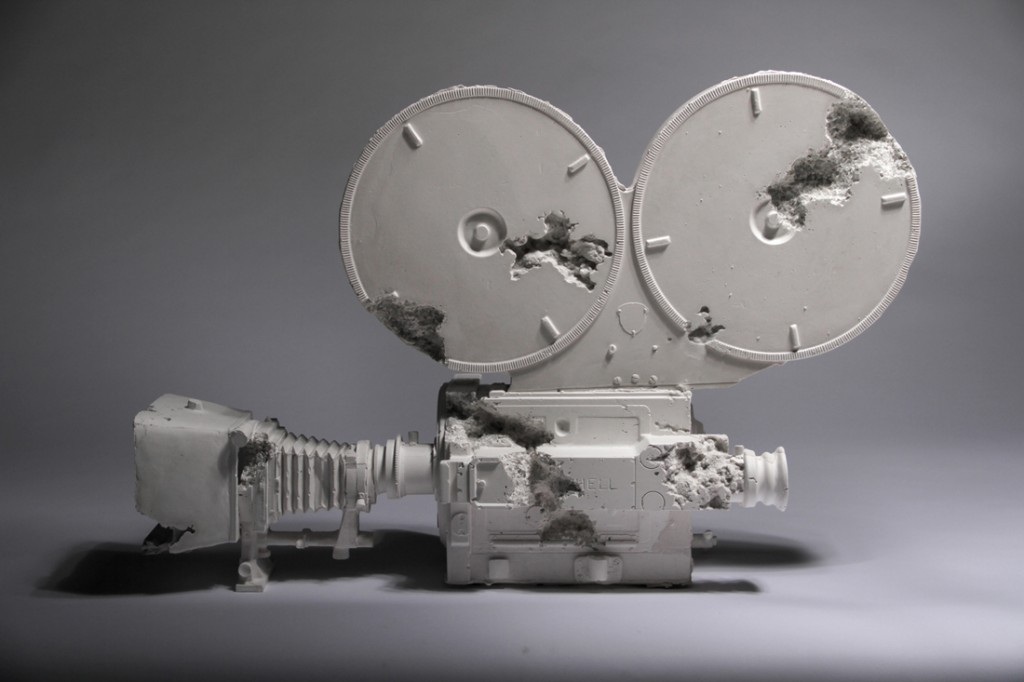 'Movie Camera', 2013 - Daniel Arsham