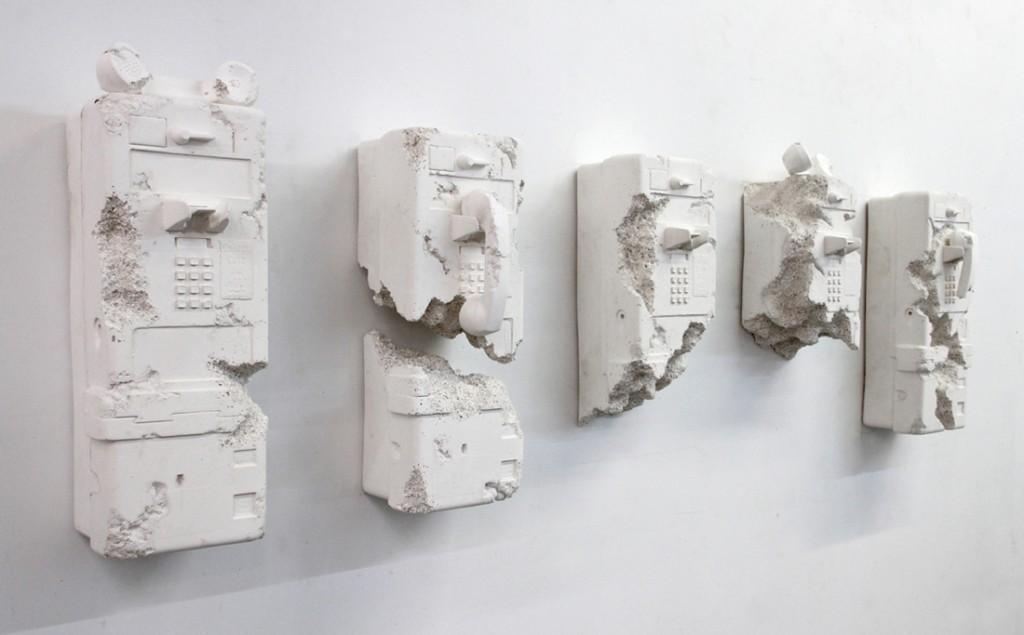 'Payphones', 2013 - Daniel Arsham
