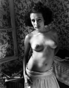 Sabine, France, 1973 © Judy Dater