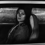 Self portrait in car 1982 © Judy Dater