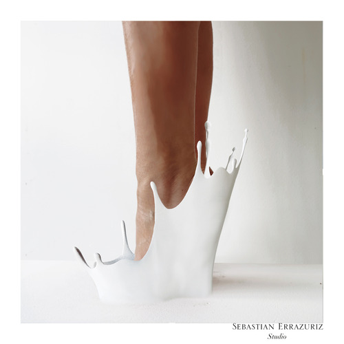 Shoe 2 - 'Cry Baby' - Sebastian Errazuriz
