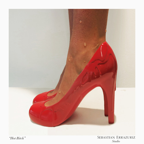 Shoe 9 - 'Hot Bitch' - Sebastian Errazuriz