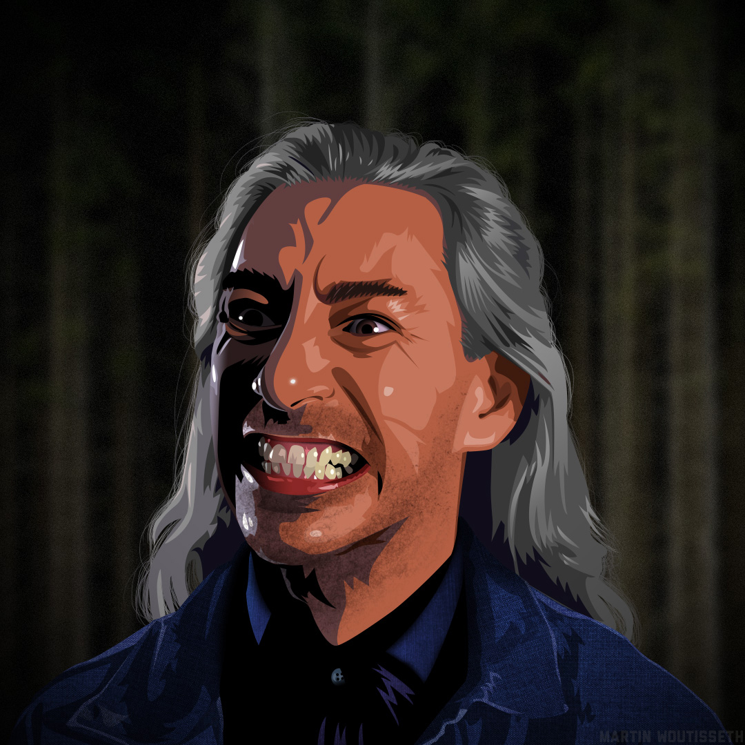 Twin Peaks Illustrated - Bob