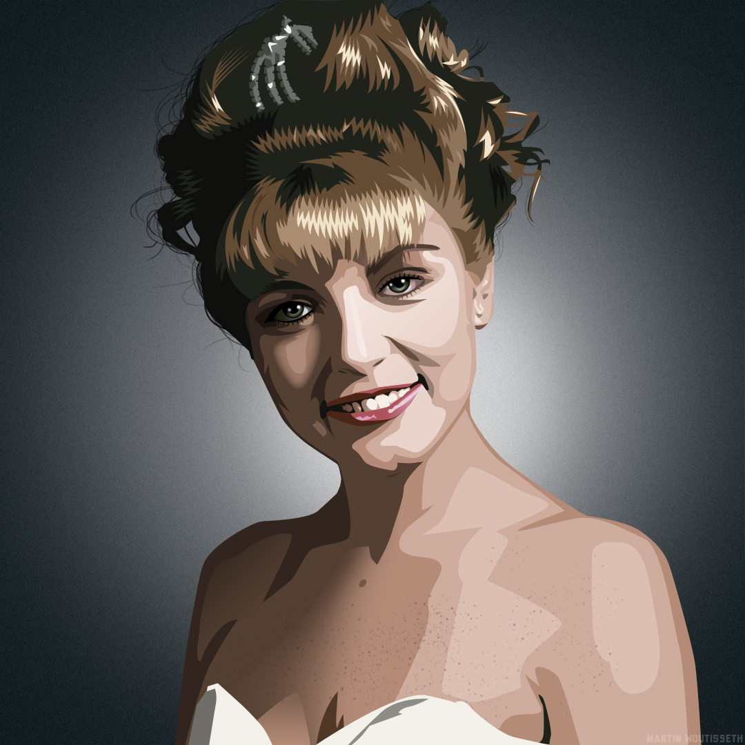 Twin Peaks Illustrated - Laura Palmer
