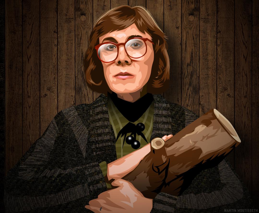 Twin Peaks Illustrated - Log Lady