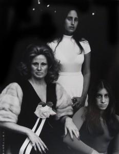 Woman and Daughters, Beverly Hills, 1972 © Judy Dater