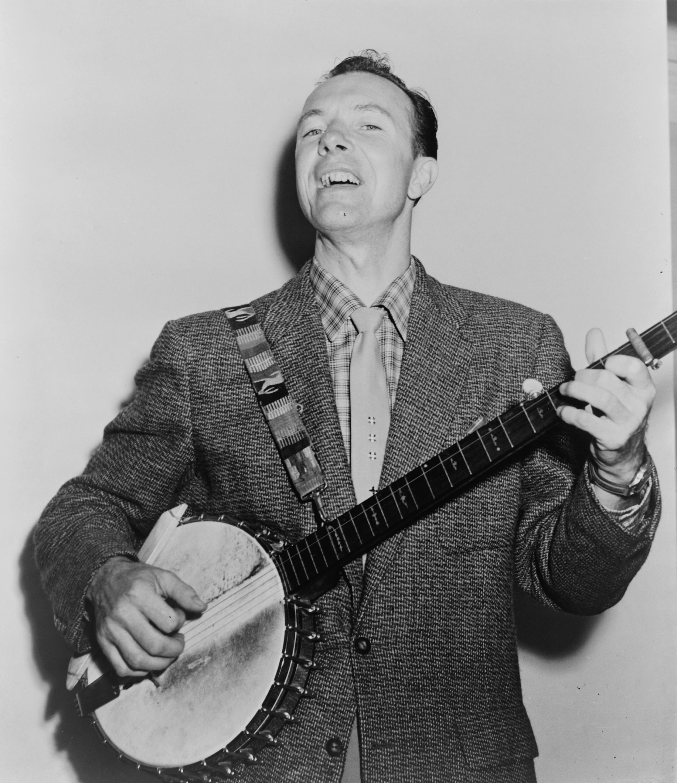 Pete Seeger en 1955