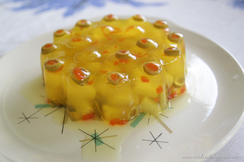 Pineapple Olive Salad