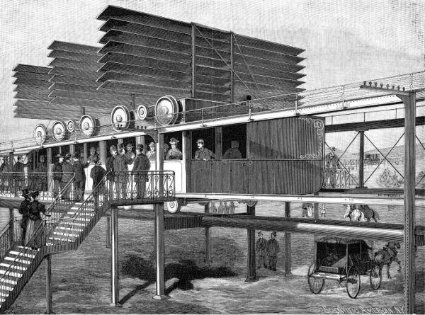 Aerodromic System of Transportation (1894)