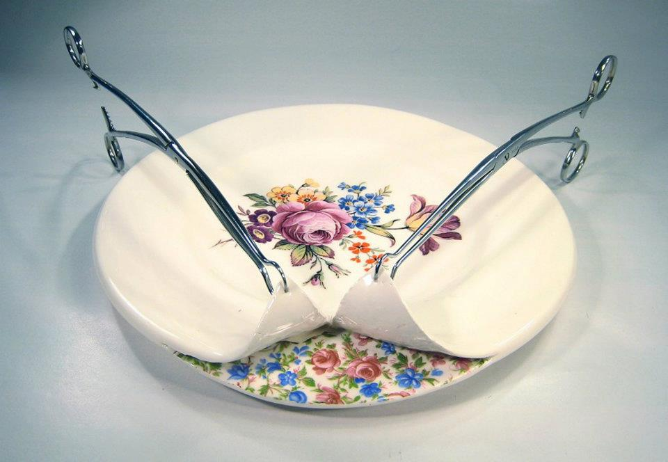 Dissected china - Beccy Ridsdel