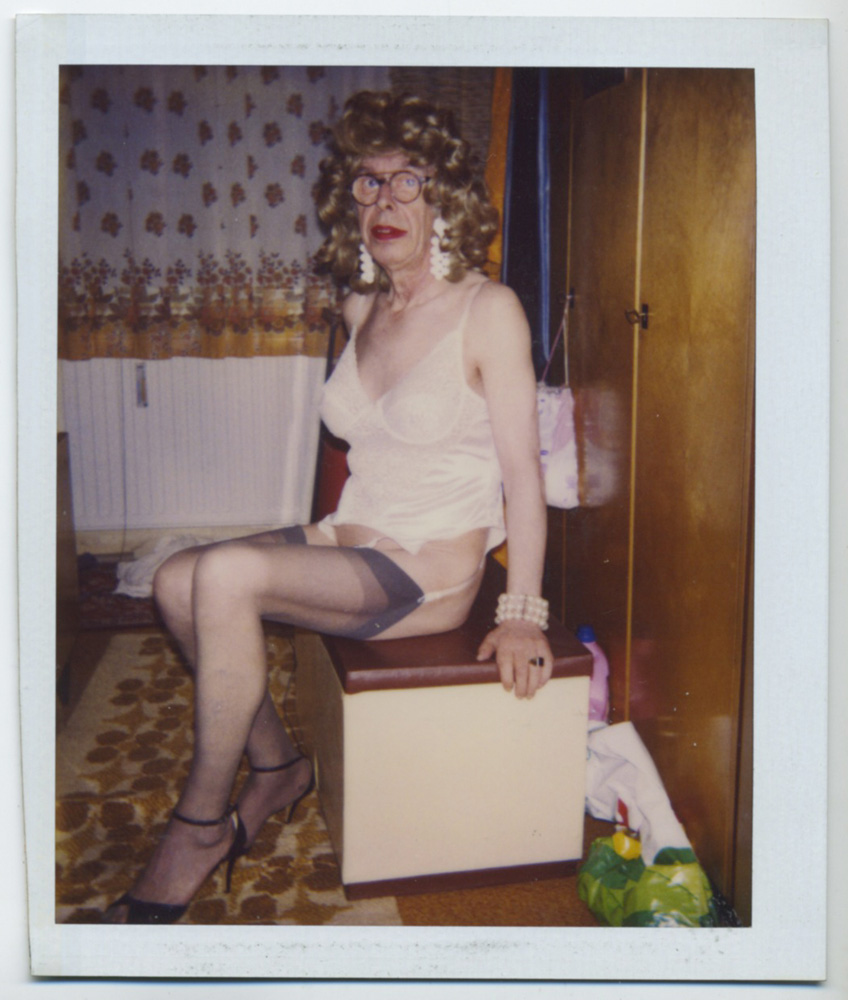 "Martina Kubelk, untitled, Polaroid from the photo album ""Martina Kubelk. Kleider - Unterwaesche"" (Martina Kubelk. Dresses - Lingerie), 1988 - 1995, Courtesy Galerie Susanne Zander / Delmes & Zander"
