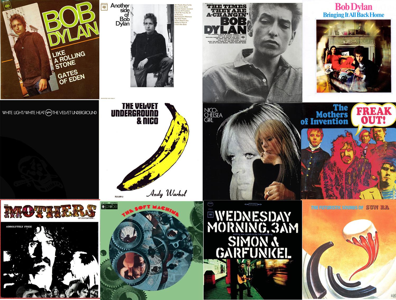 Una docena de discos producidos por Tom Wilson