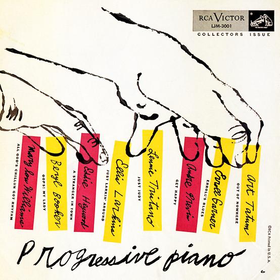 """Varios artistas: """"Progressive Piano"""", 1952"""