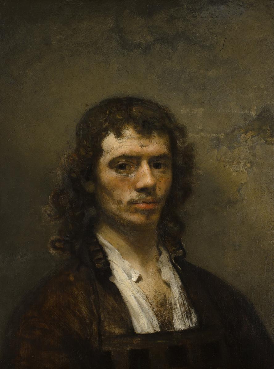 "Carel Fabritius - ""Zelfportret"", ca. 1645"
