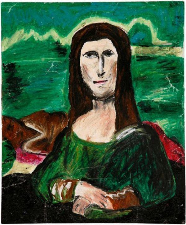 'Mana Lisa', pintura de la colección del MOBA