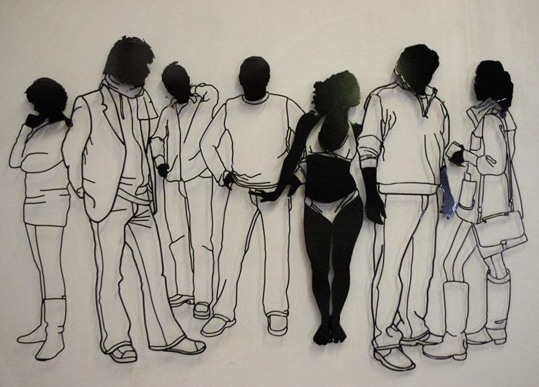 'People Being People' - Frank Plant
