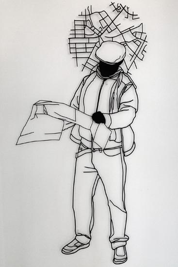 'The tourist' - Frank Plant