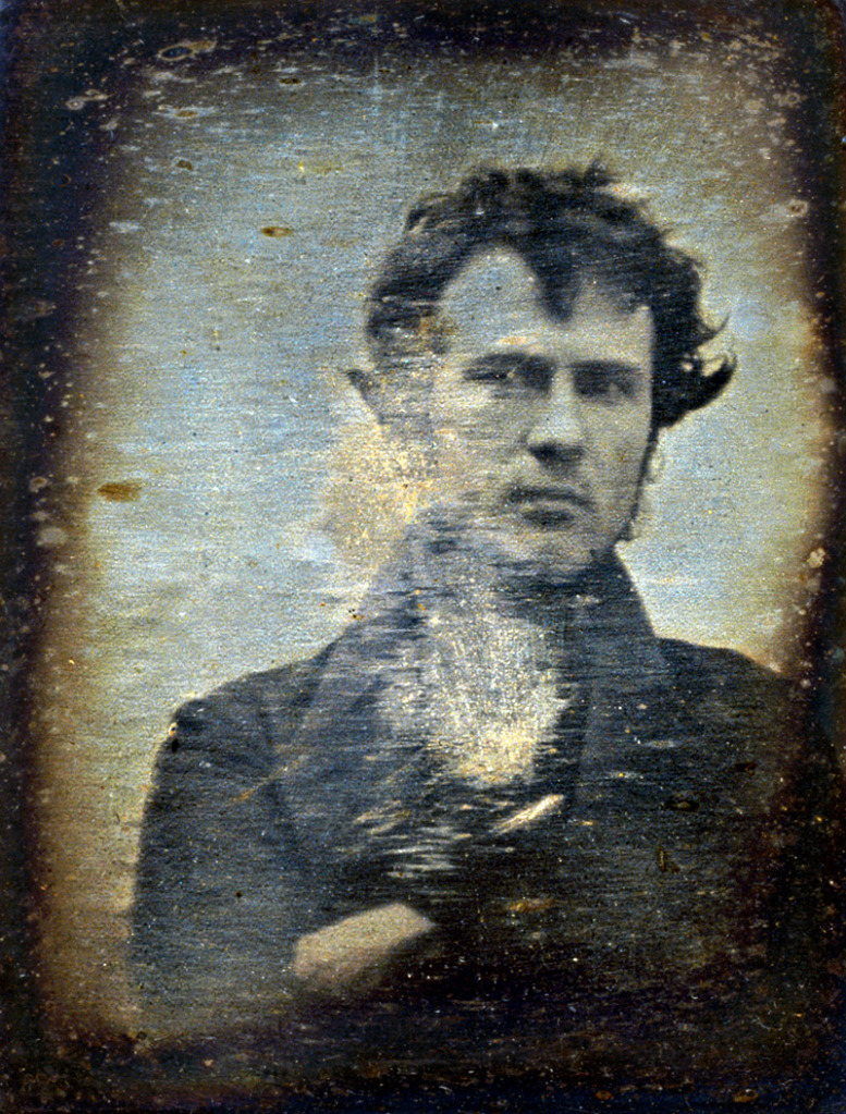 El primer autorretrato fotográfico de la historia (Library of Congress Prints and Photographs Division Washington, D.C.)
