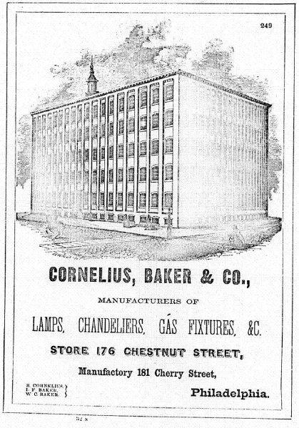 Anuncio de la empresa de los Cornelius