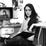 """Durante el montaje del making-off de """"El resplandor"""", 1980 (Foto de Stanley Kubrick)"""