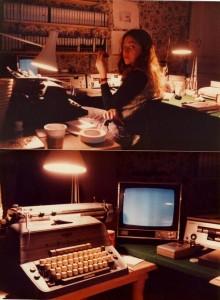 """Sala de montaje del 'making-off' de """"El resplandor"""", 1979"""