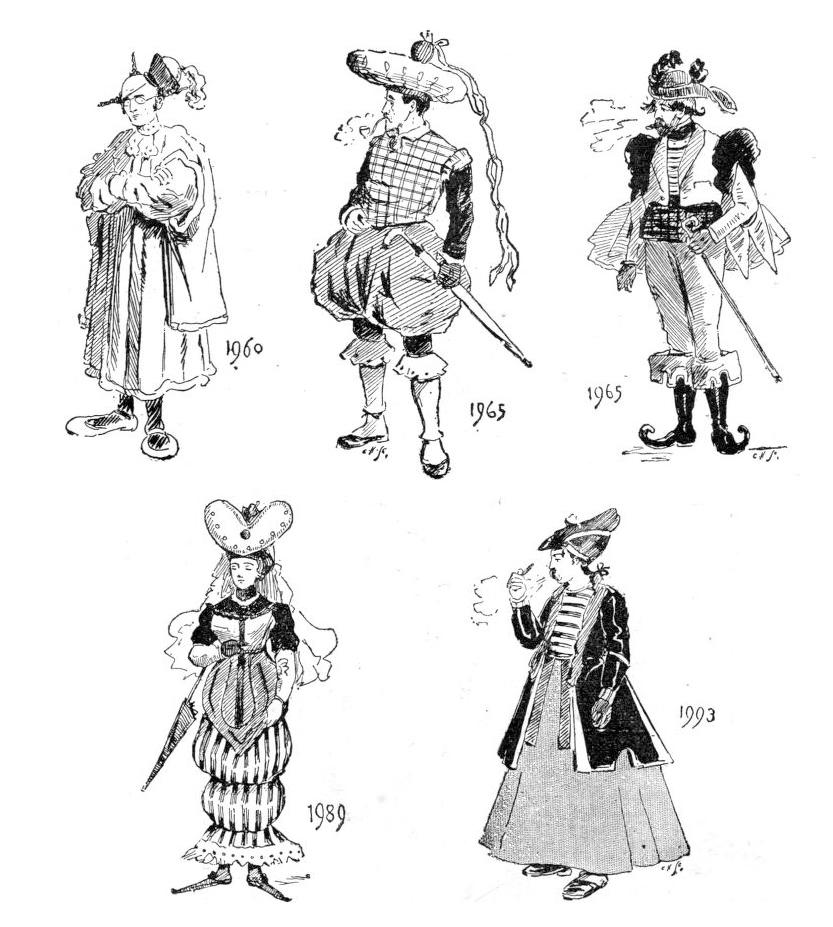 'Future Dictates Fashion' - Strand Magazine- 1893