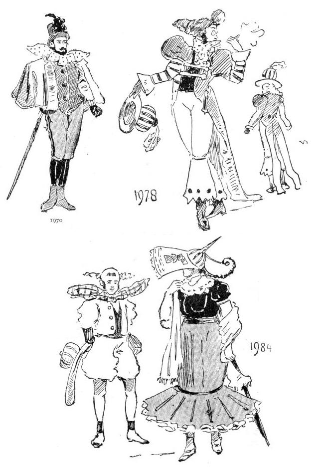 Los años setenta y ochenta ilustrados por W. Cade Gall