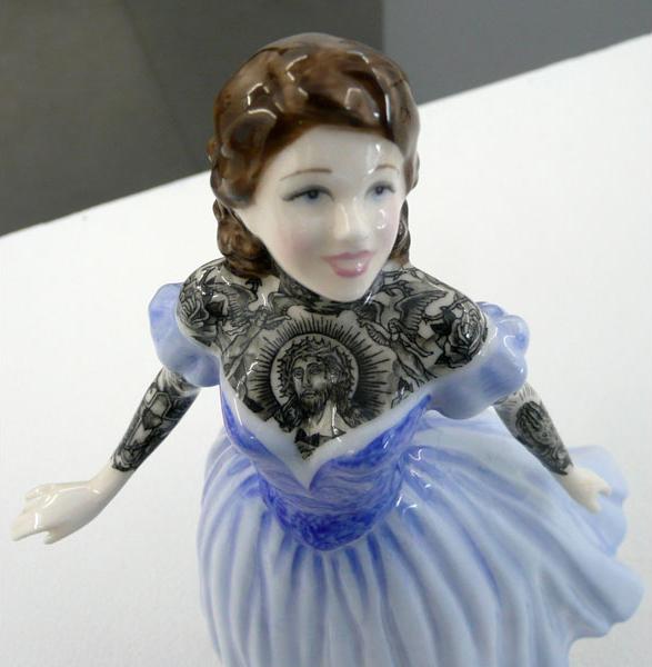 Detalle de 'Painted Lady 5' - Foto: Galerie L.J., París