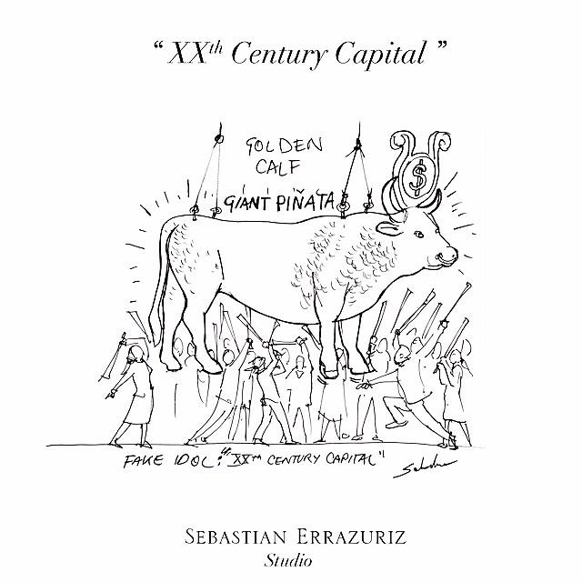 Fake Idol - XXth Century Capitalism - Sebastian Errazuriz