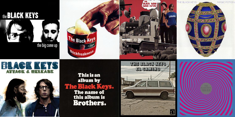 Discografía de los Black Keys (2002-2014)