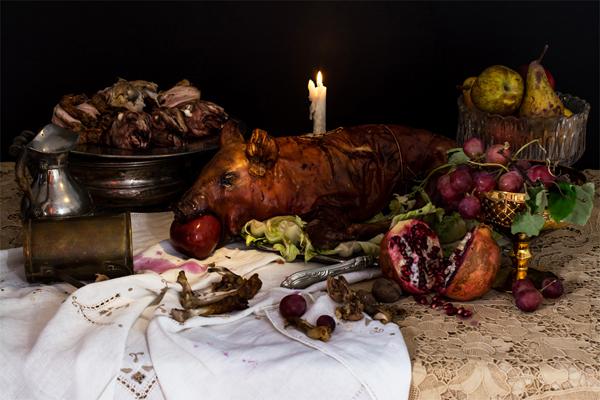 Comida habitual del rey Enrique VIII de Inglaterra. Foto: Dan Bannino