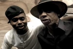 Nas y su padre, el músico de jazz y blues Olu Dara