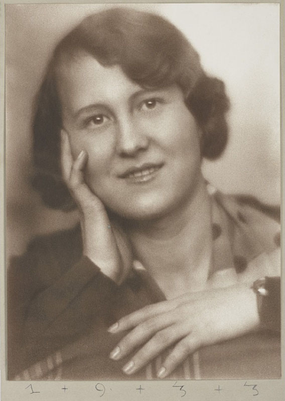 Olga Wlassics, Viena, 1933. Foto: Anton Josef Trčka
