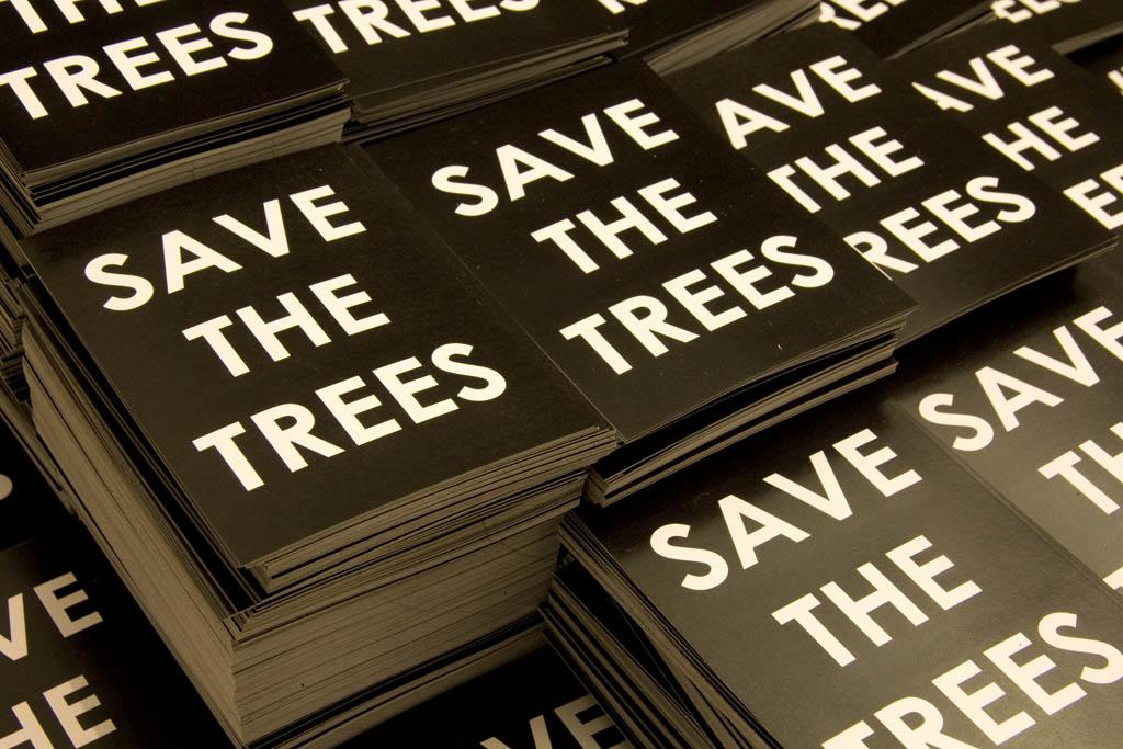 'Salvemos los árboles' - Mobstr