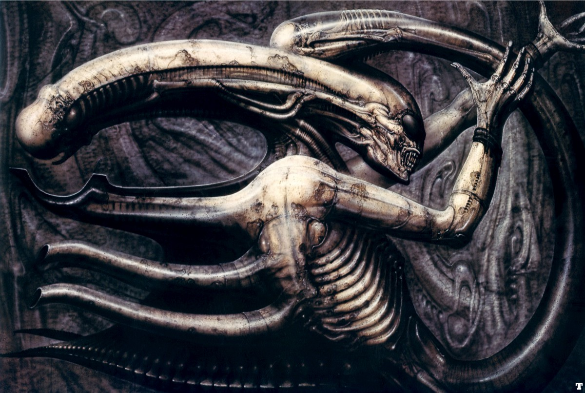 Necronomicon IV © HR Giger