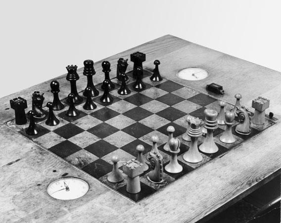 El set de ajedrez de Duchamp