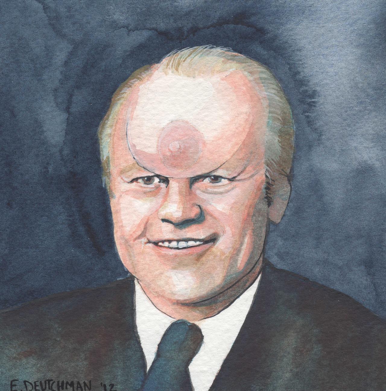 'Gerald Ford' - Emily Deutchman