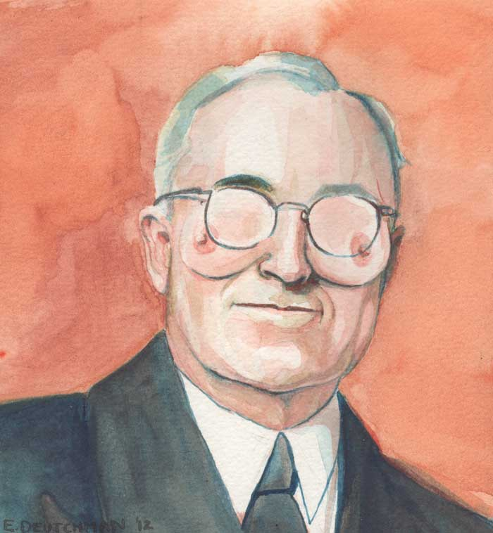 'Harry S. Truman' - Emily Deutchman